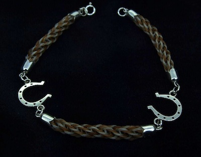 Two Lucky Horseshoes Bracelet
