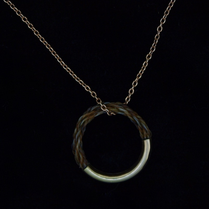 Rose Gold Circle of Friendship Pendant