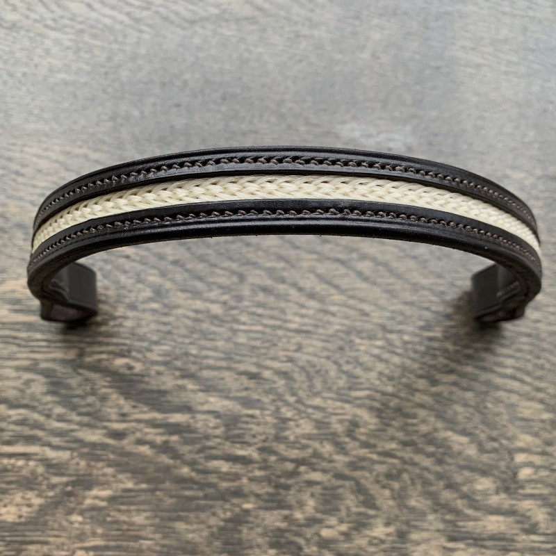 Inlaid Horsehair Browband