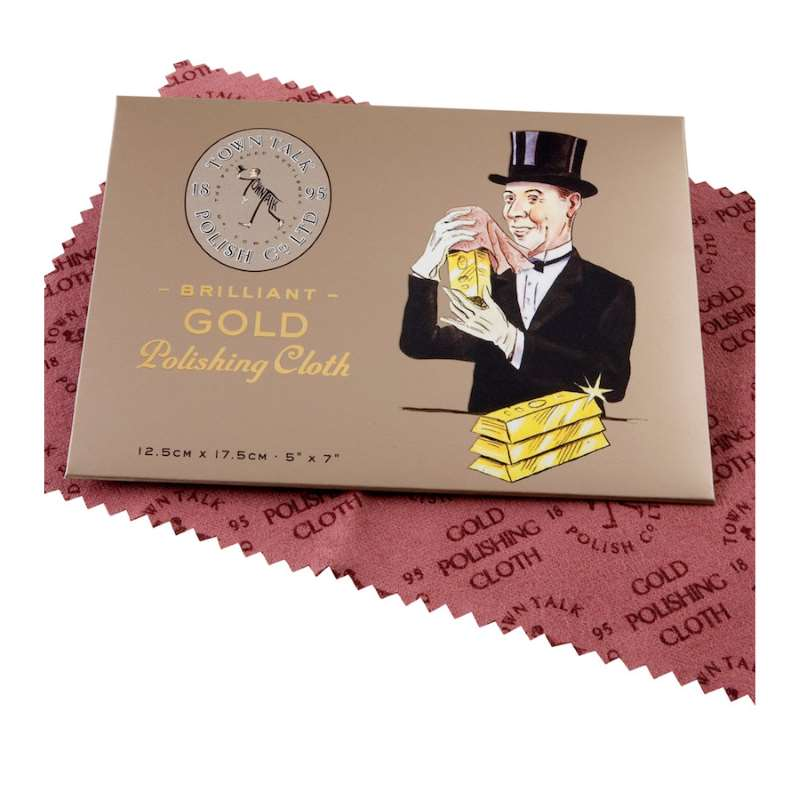Gold cleaning cloth