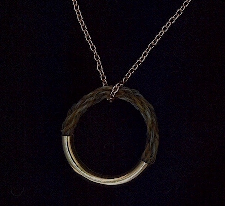 Rose Gold Circle of Friendship Necklace